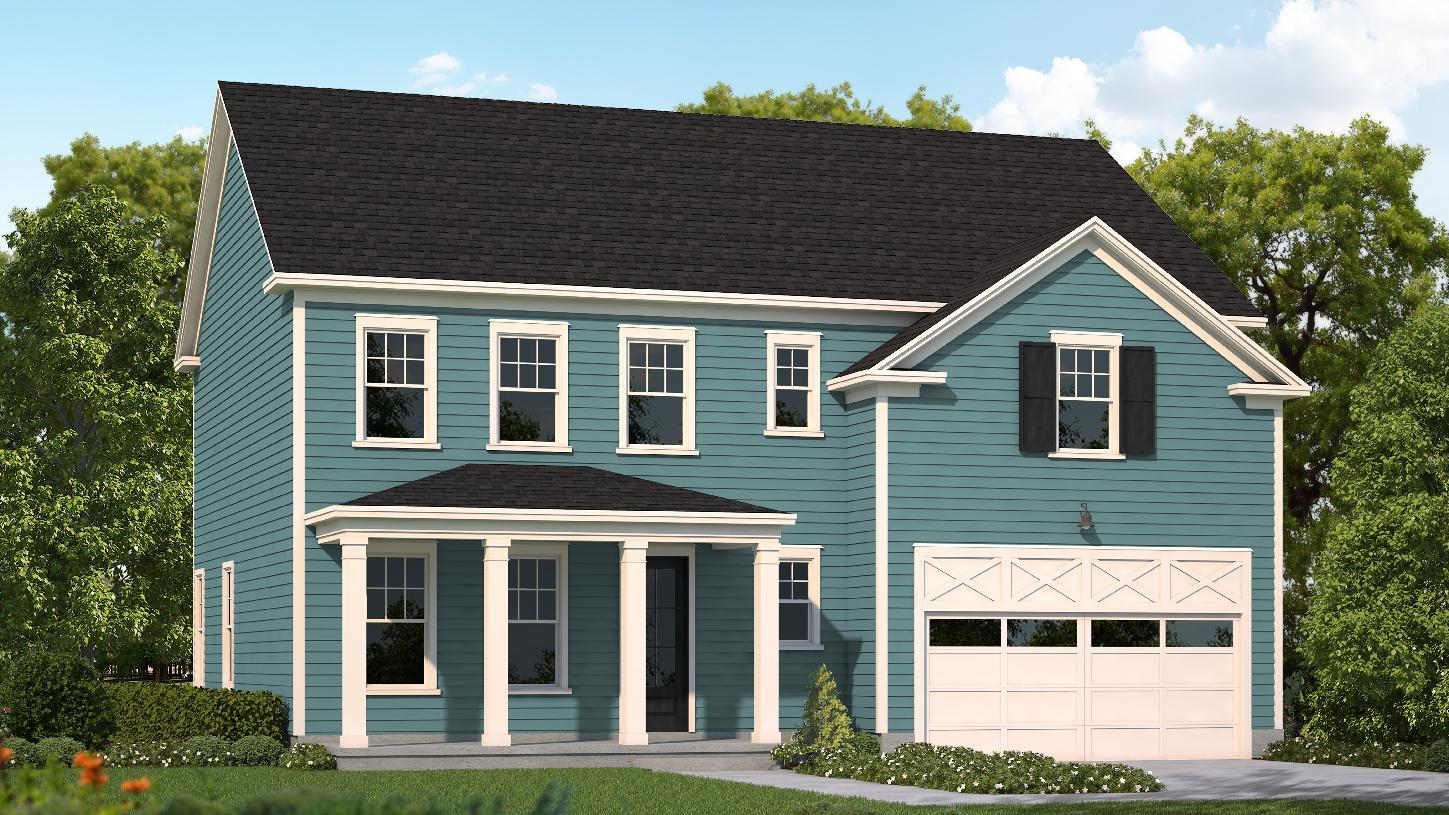 Exterior featured in the Evans-SC By Toll Brothers in Greenville-Spartanburg, SC