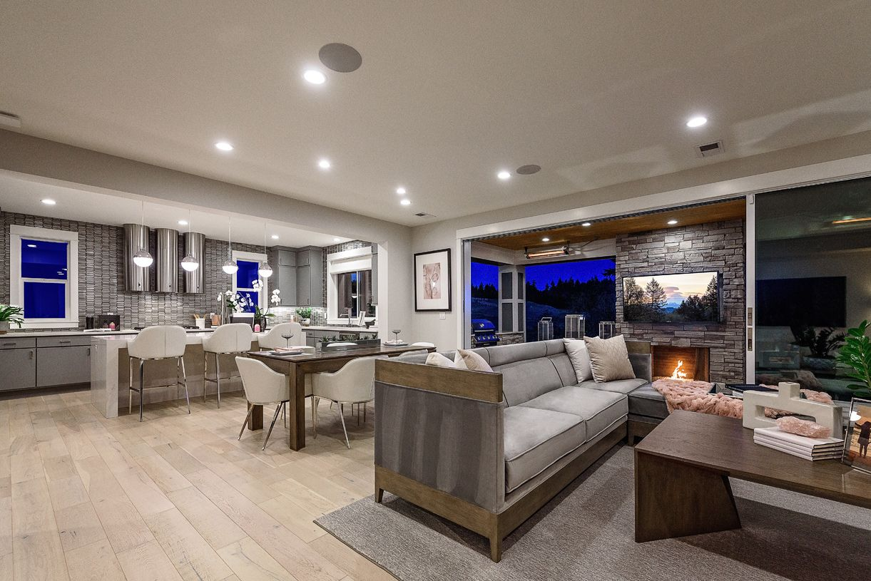 Living Area featured in the Trillium with Basement By Toll Brothers in Portland-Vancouver, OR