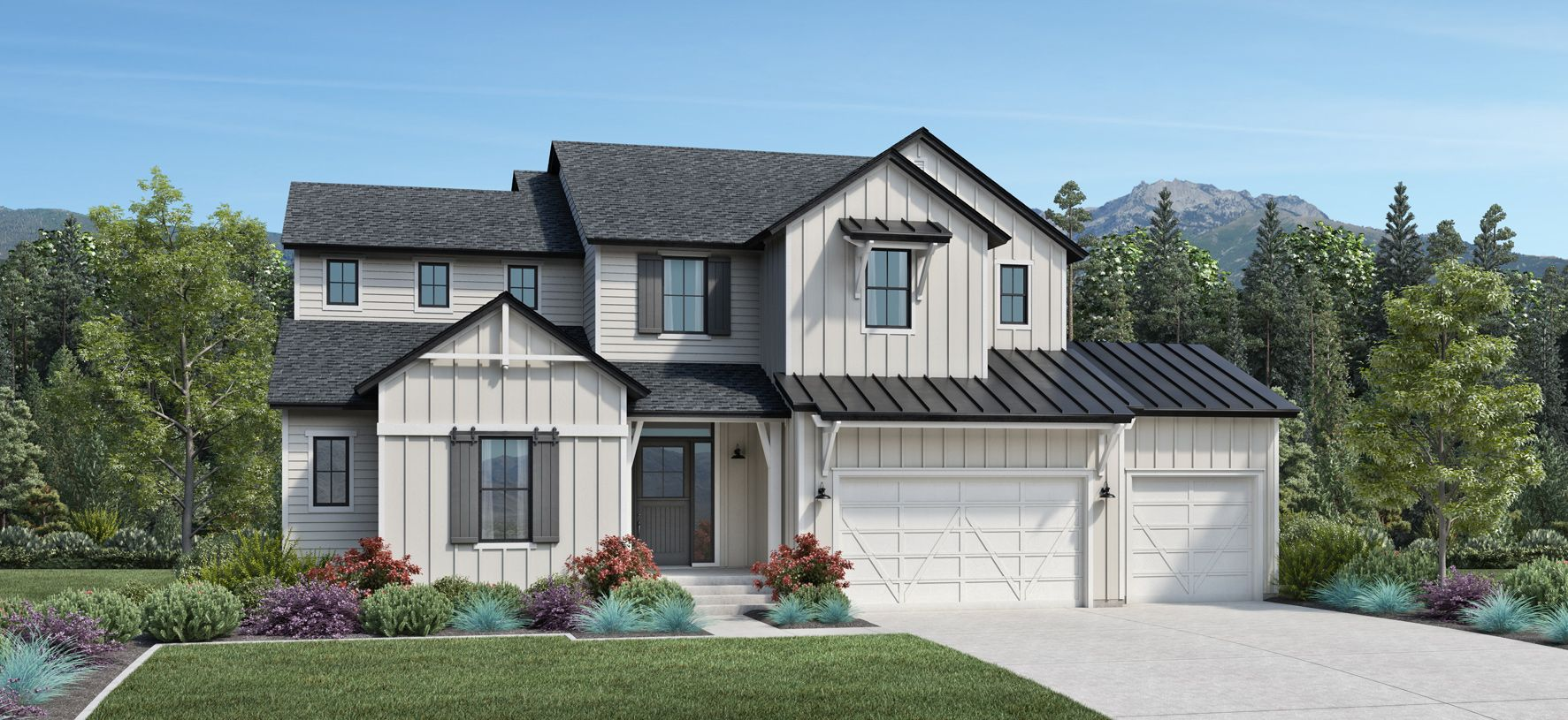 Exterior featured in the Porter By Toll Brothers in Salt Lake City-Ogden, UT
