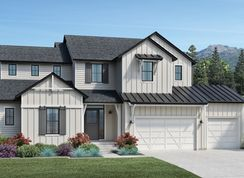 Porter - The Ridge by Toll Brothers - The Overlook Collection: North Salt Lake, Utah - Toll Brothers