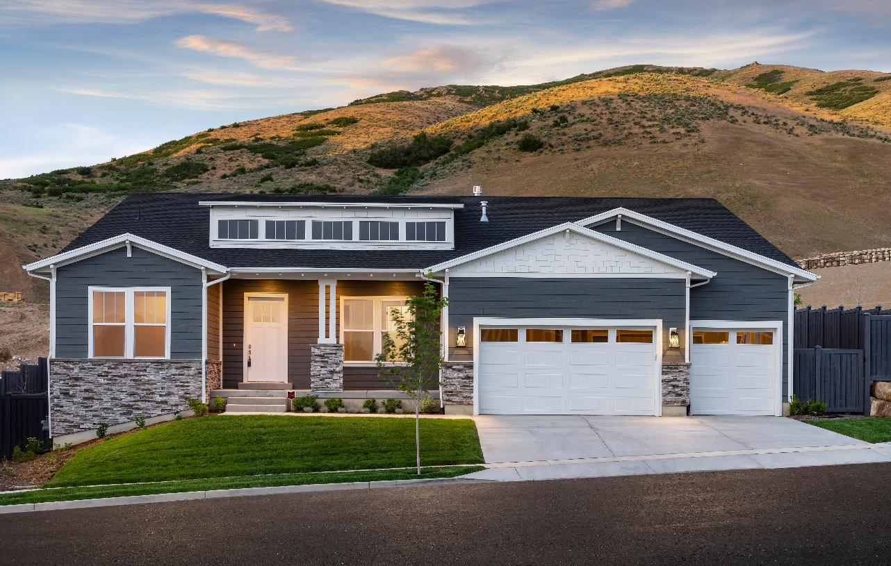 Exterior featured in the Stewart By Toll Brothers in Provo-Orem, UT