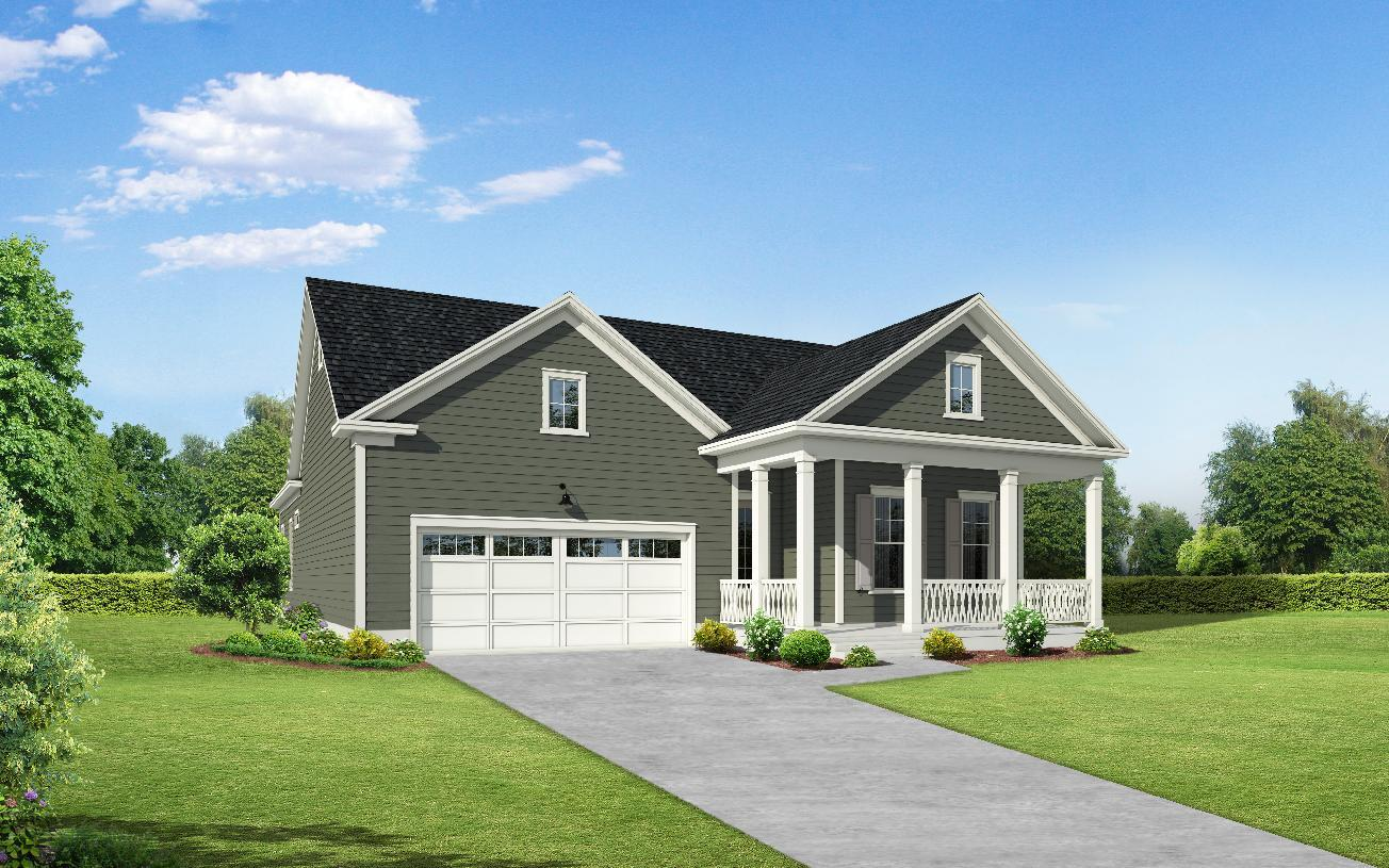 Exterior featured in the Drew By Toll Brothers in Charleston, SC