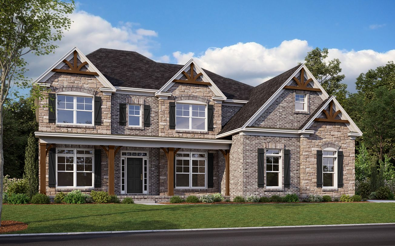 Exterior featured in the Rockwell By Toll Brothers in Atlanta, GA