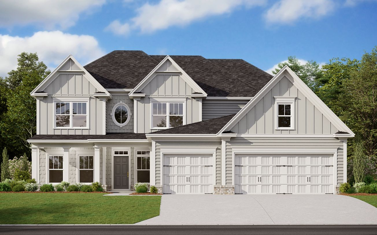 Exterior featured in the Winthrop II By Toll Brothers in Atlanta, GA