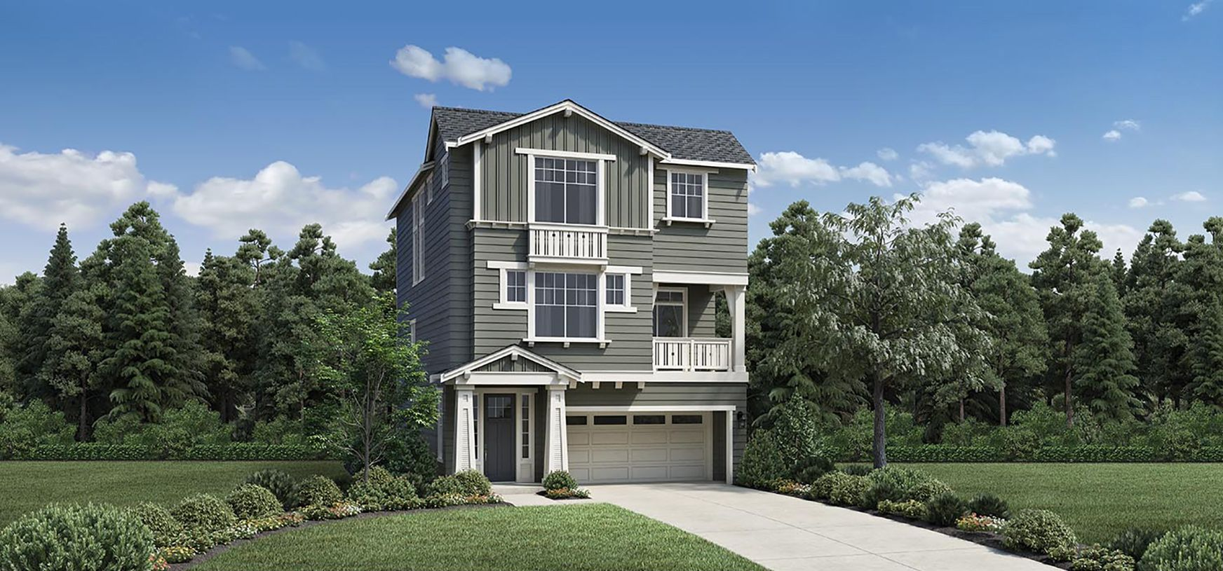 Exterior featured in the Silverton By Toll Brothers in Portland-Vancouver, OR