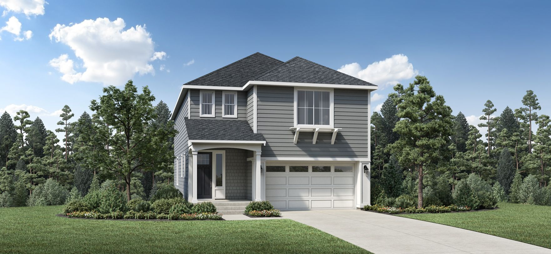 Exterior featured in the Ashcreek By Toll Brothers in Portland-Vancouver, OR