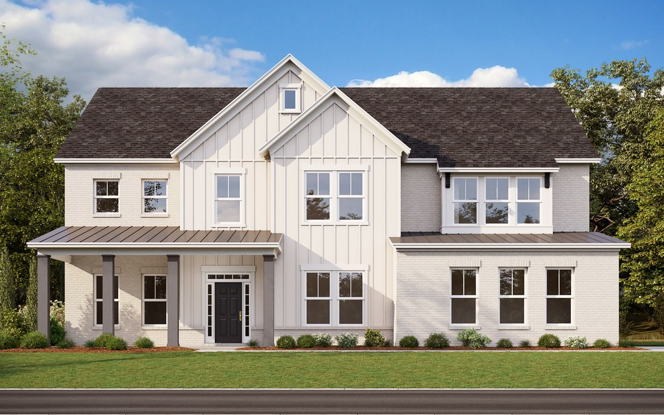 Exterior featured in the Rylan By Toll Brothers in Atlanta, GA