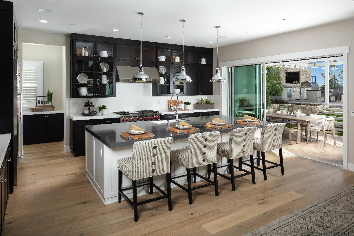 Kitchen featured in the Auburn By Toll Brothers in Sacramento, CA