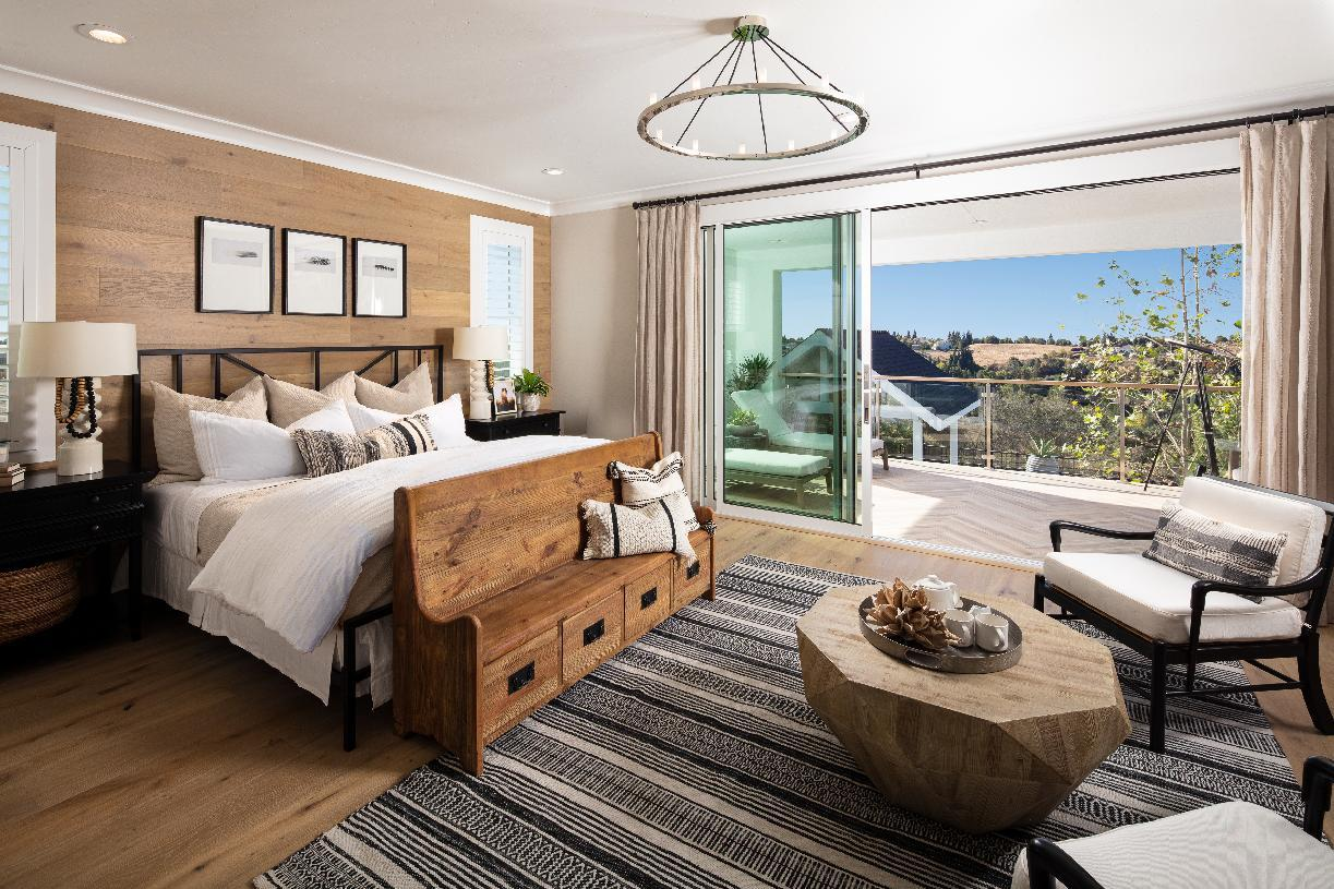 Bedroom featured in the Auburn By Toll Brothers in Sacramento, CA