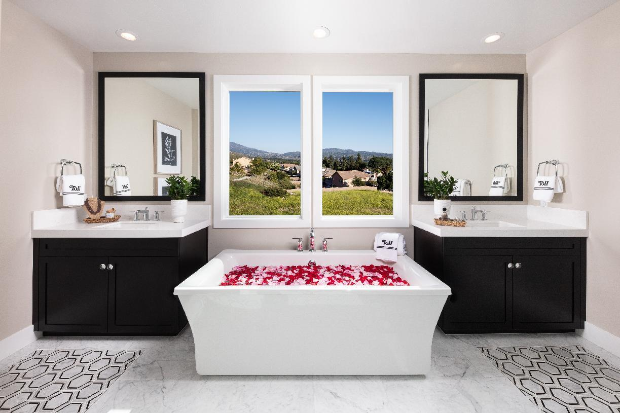 Bathroom featured in the Auburn By Toll Brothers in Sacramento, CA