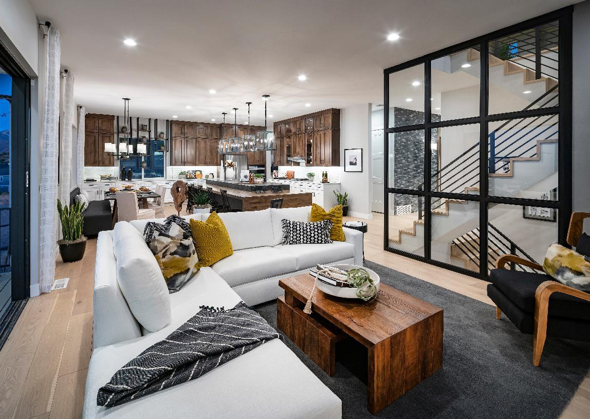 Living Area featured in the Cutler By Toll Brothers in Salt Lake City-Ogden, UT