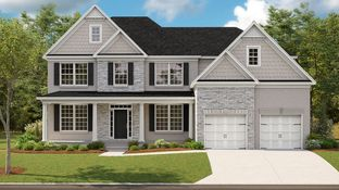 Rockhaven - Crest Brooke - Brighton: Holly Springs, Georgia - Toll Brothers