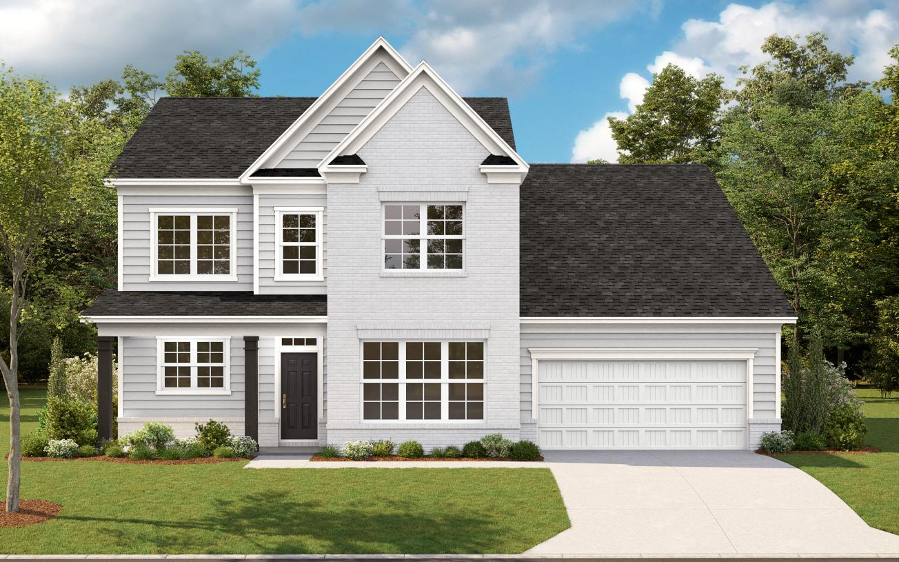 Exterior featured in the Lanier By Toll Brothers in Atlanta, GA