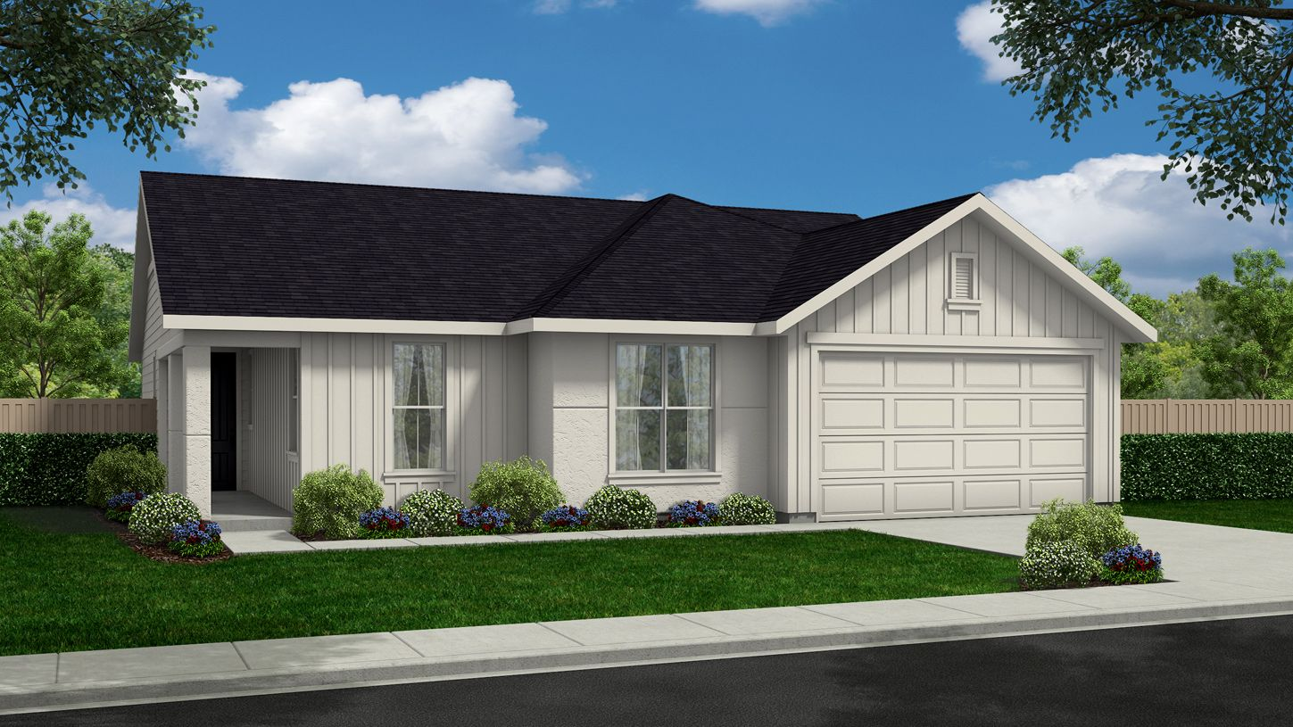Exterior featured in the Collins By Toll Brothers in Boise, ID
