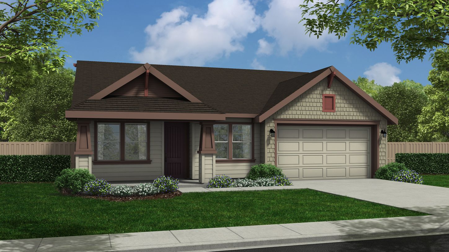 Exterior featured in the Lauren By Toll Brothers in Boise, ID