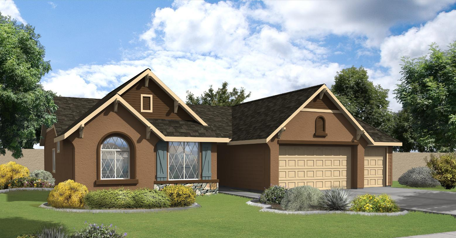 Exterior featured in the Andrew By Toll Brothers in Boise, ID