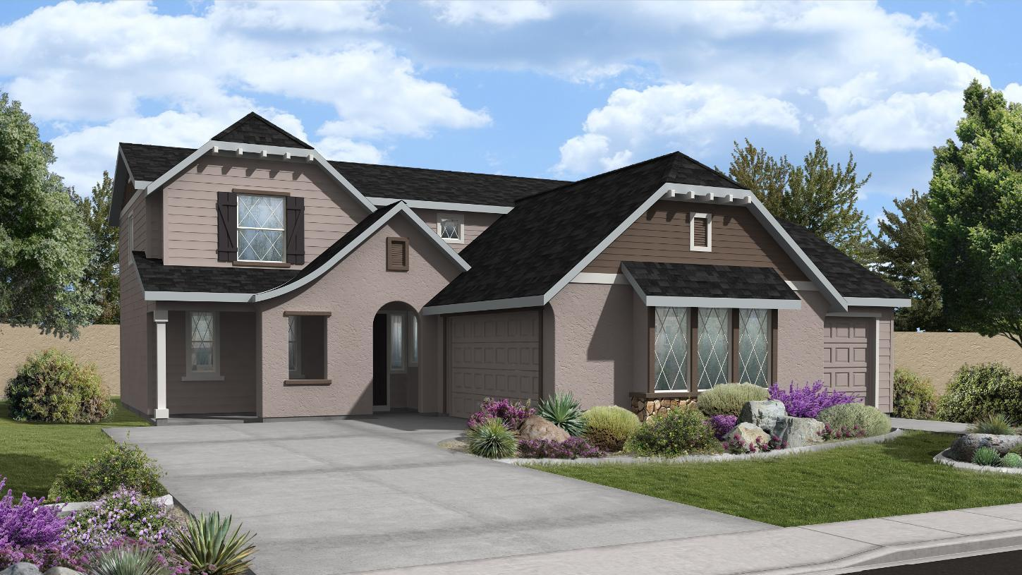 Exterior featured in the Chapman By Toll Brothers in Boise, ID