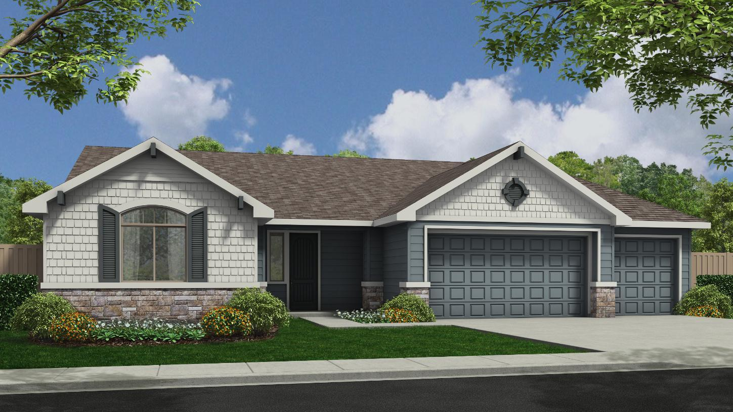 Exterior featured in the Sutton By Toll Brothers in Boise, ID