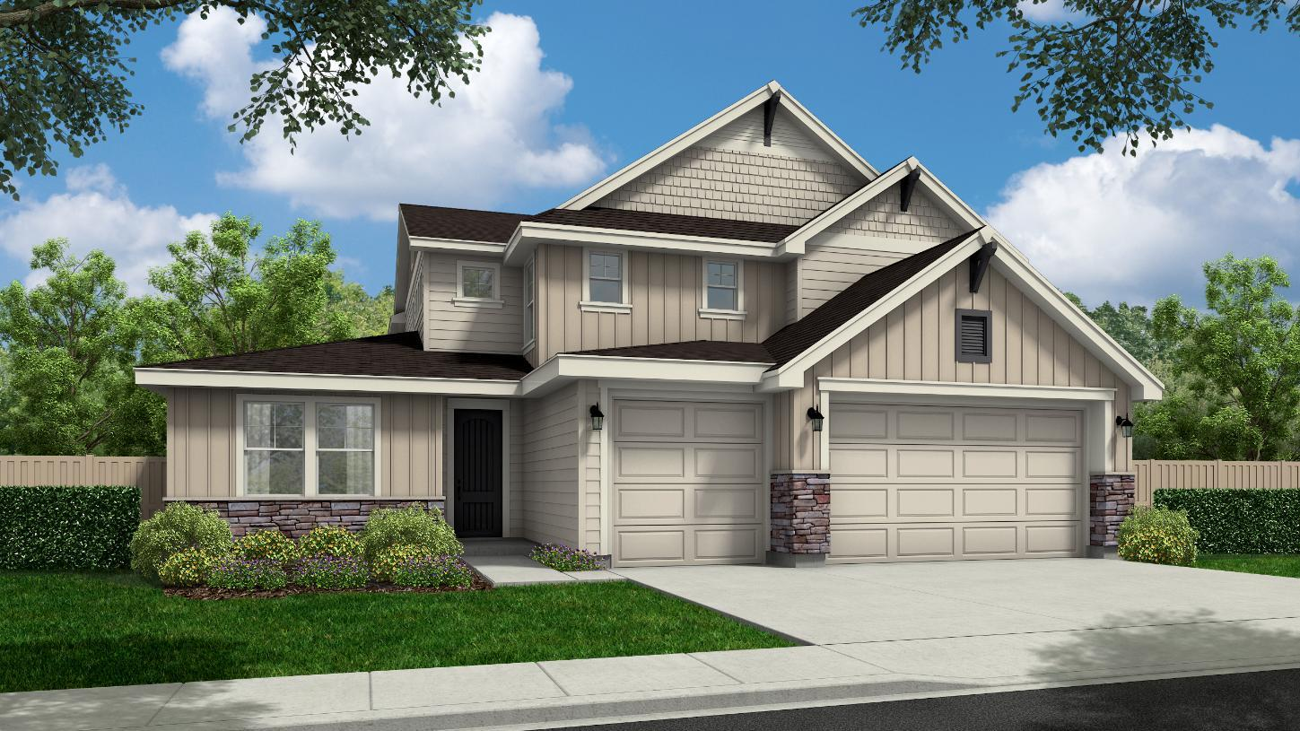 Exterior featured in the Hensley By Toll Brothers in Boise, ID