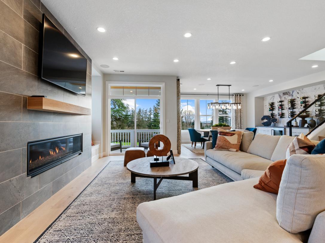 Living Area featured in the Silverton By Toll Brothers in Portland-Vancouver, OR