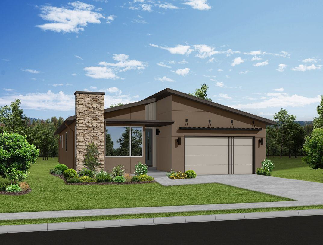 Exterior featured in the Mackintosh By Toll Brothers in Colorado Springs, CO
