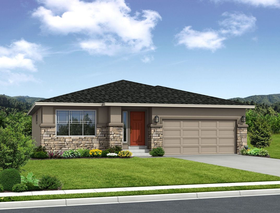Exterior featured in the Belford By Toll Brothers in Colorado Springs, CO
