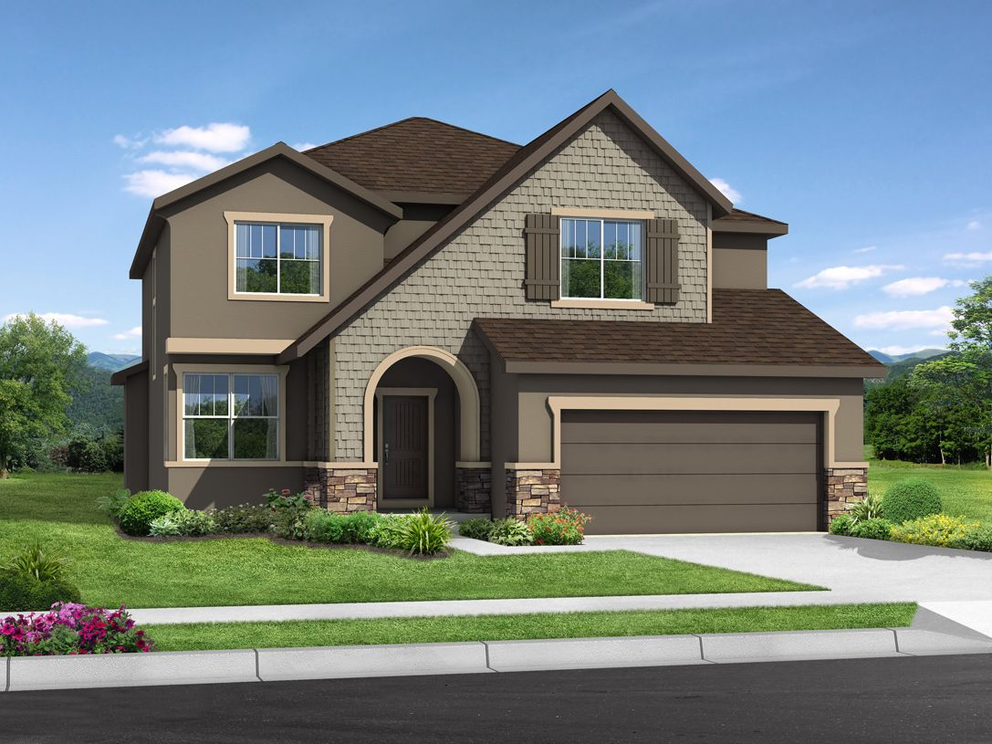 Exterior featured in the Windom-K By Toll Brothers in Colorado Springs, CO