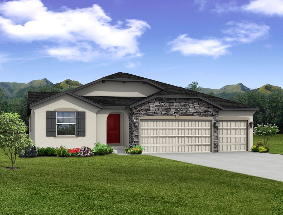 Exterior featured in the Ellingwood By Toll Brothers in Colorado Springs, CO