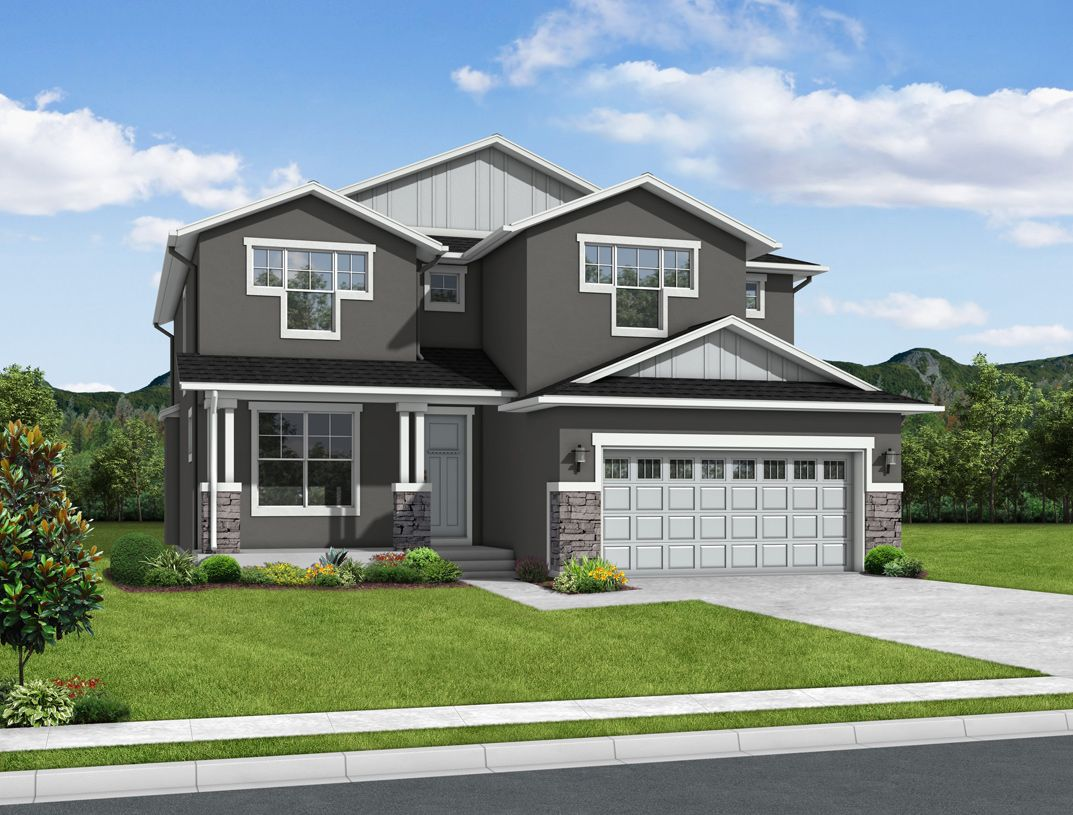 Exterior featured in the Culebra By Toll Brothers in Colorado Springs, CO