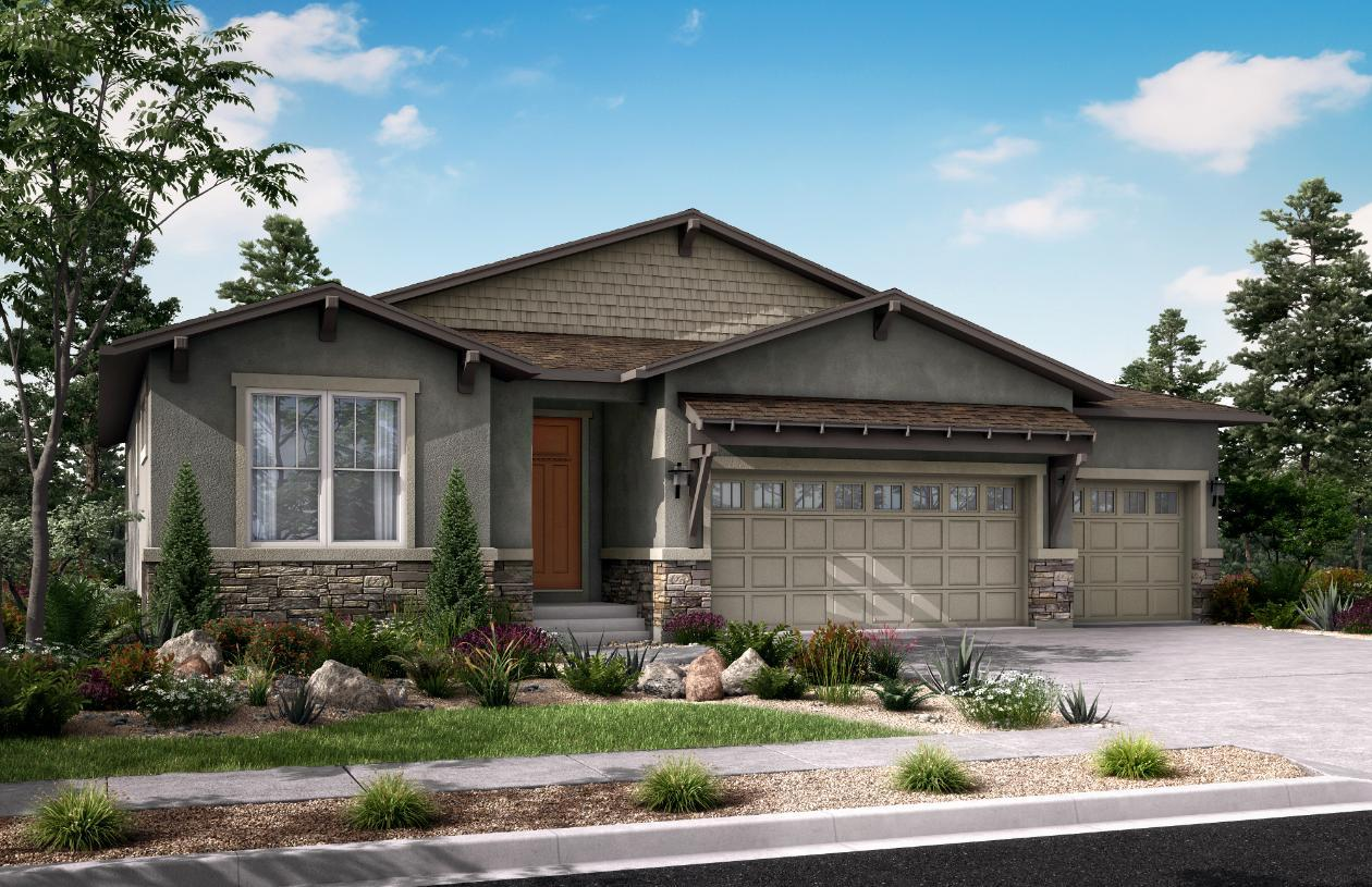 Exterior featured in the Cameron By Toll Brothers in Colorado Springs, CO