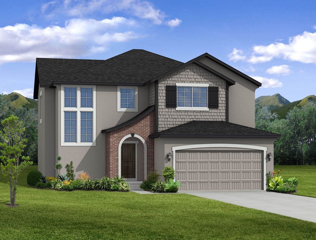 Exterior featured in the Silverton-K By Toll Brothers in Colorado Springs, CO