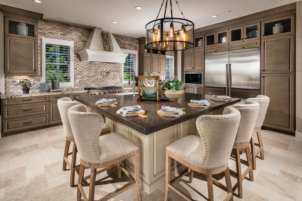 Kitchen featured in the Serrania By Toll Brothers in Los Angeles, CA