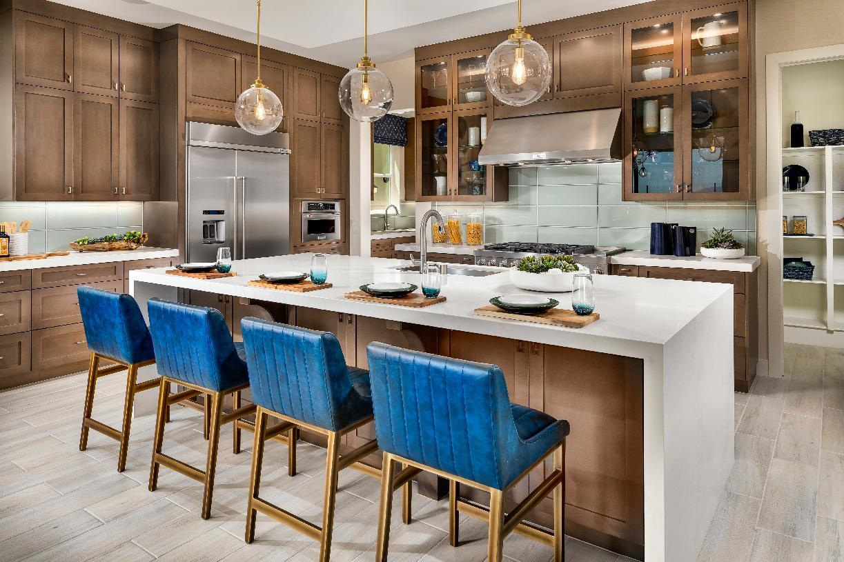 Kitchen featured in the Lassen By Toll Brothers in Los Angeles, CA