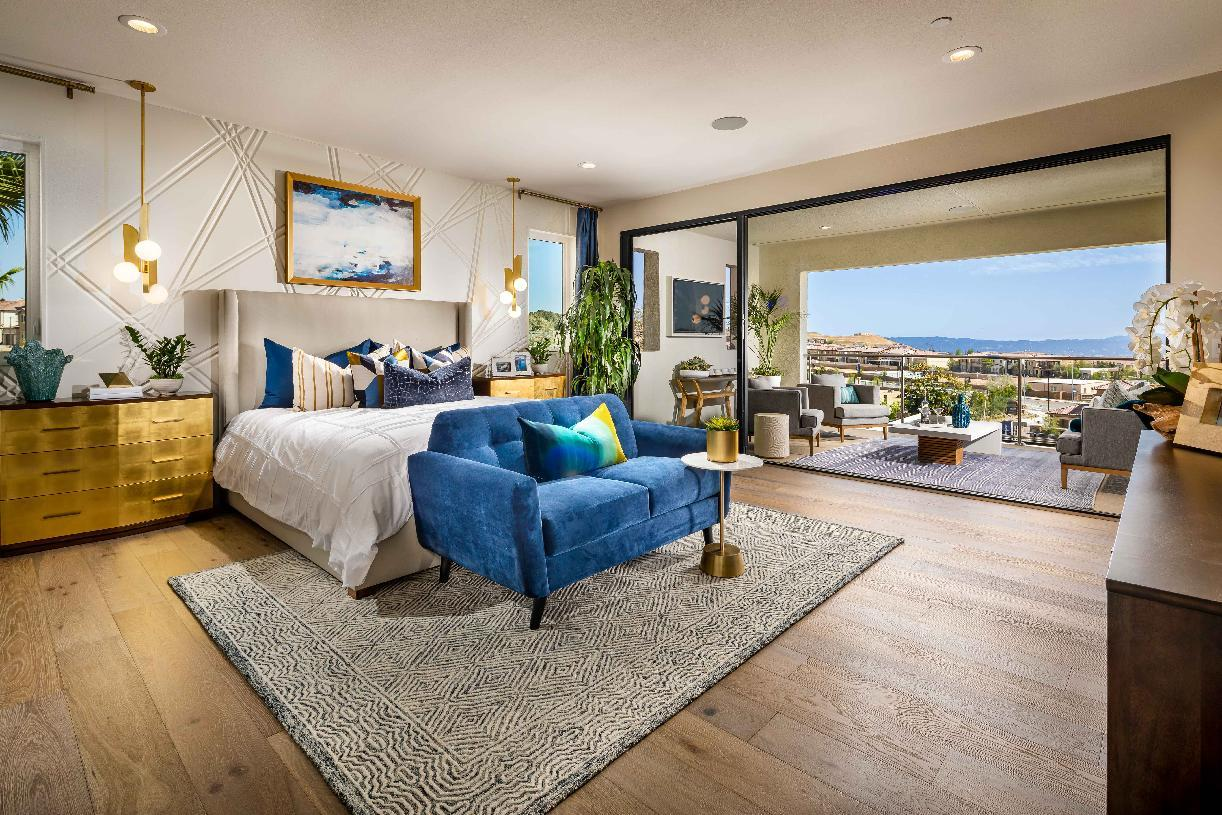Bedroom featured in the Lassen By Toll Brothers in Los Angeles, CA