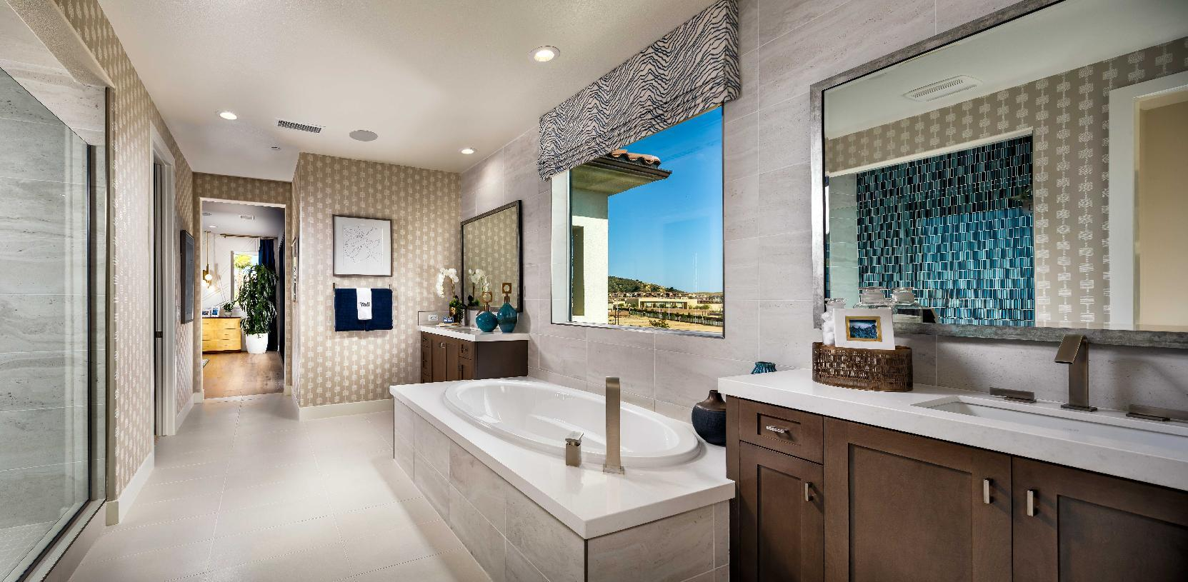 Bathroom featured in the Lassen By Toll Brothers in Los Angeles, CA