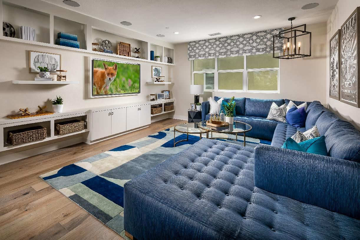 Living Area featured in the Lassen By Toll Brothers in Los Angeles, CA