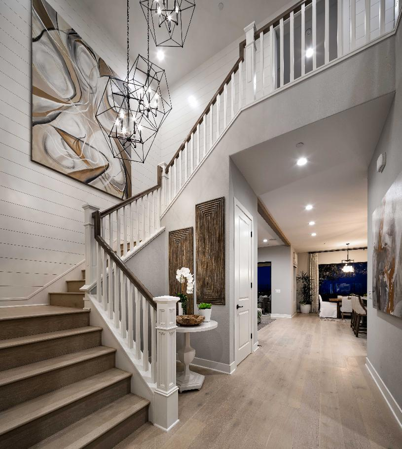 Living Area featured in the Harwood By Toll Brothers in Los Angeles, CA