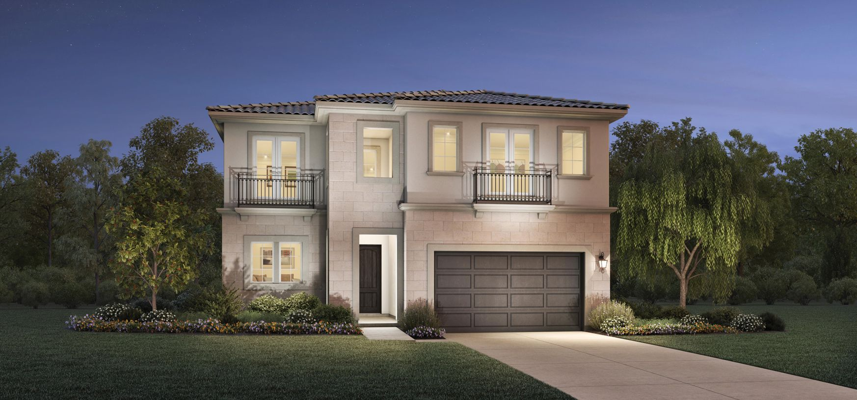Exterior featured in the Powell By Toll Brothers in Los Angeles, CA