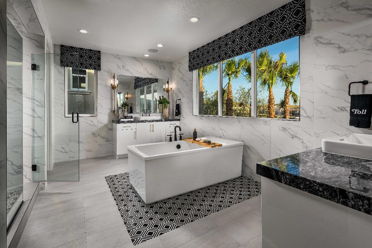Bathroom featured in the Powell By Toll Brothers in Los Angeles, CA
