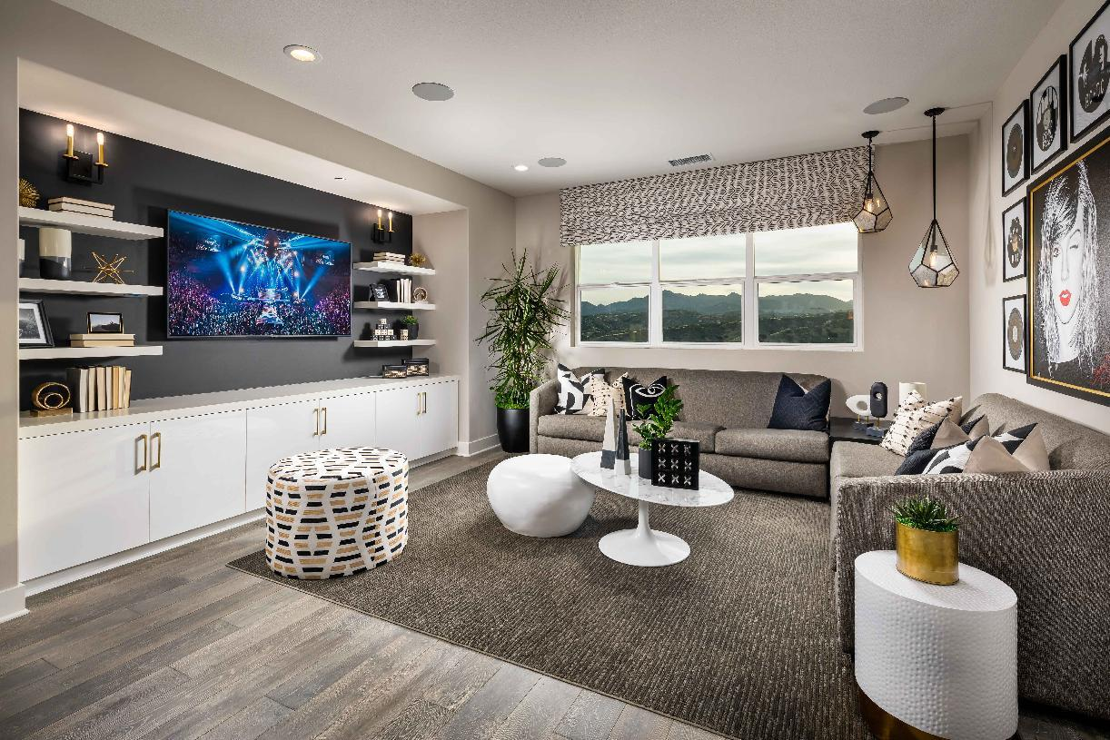 Living Area featured in the Powell By Toll Brothers in Los Angeles, CA