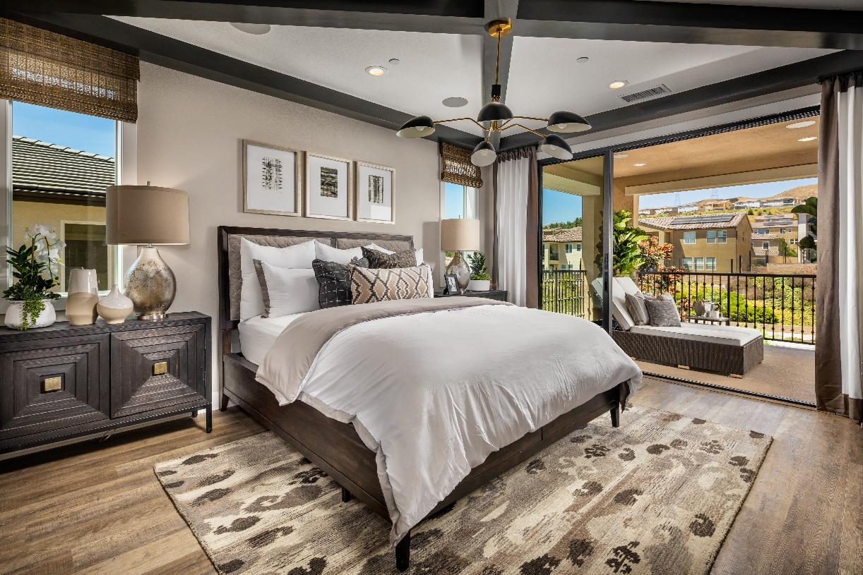 Bedroom featured in the Ladera By Toll Brothers in Los Angeles, CA
