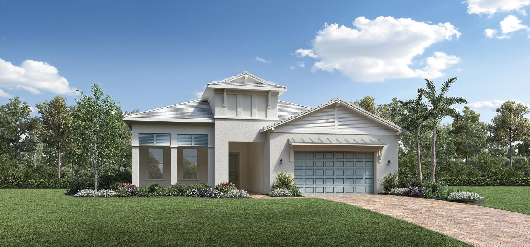 Exterior featured in the Biscayne By Toll Brothers in Sarasota-Bradenton, FL