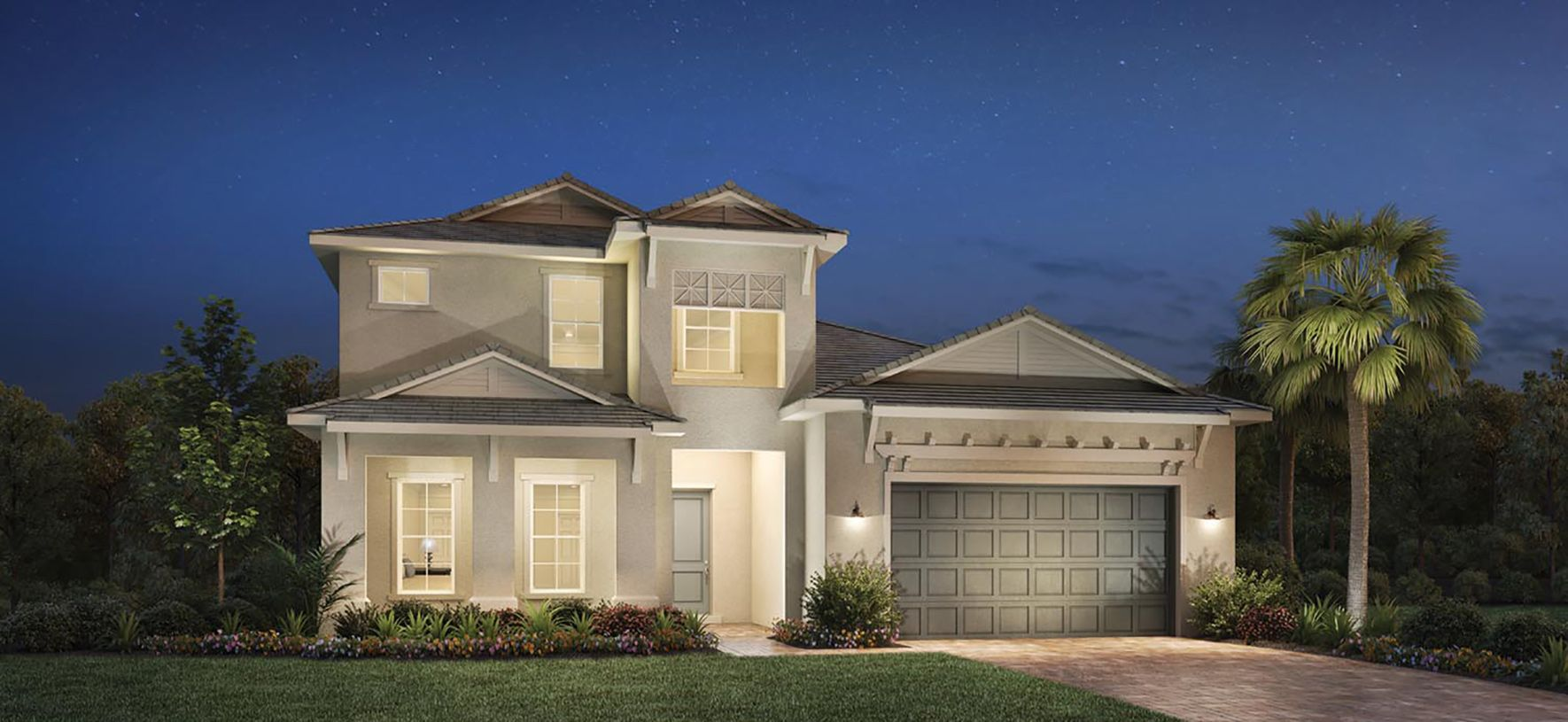 Exterior featured in the Carver Elite By Toll Brothers in Sarasota-Bradenton, FL