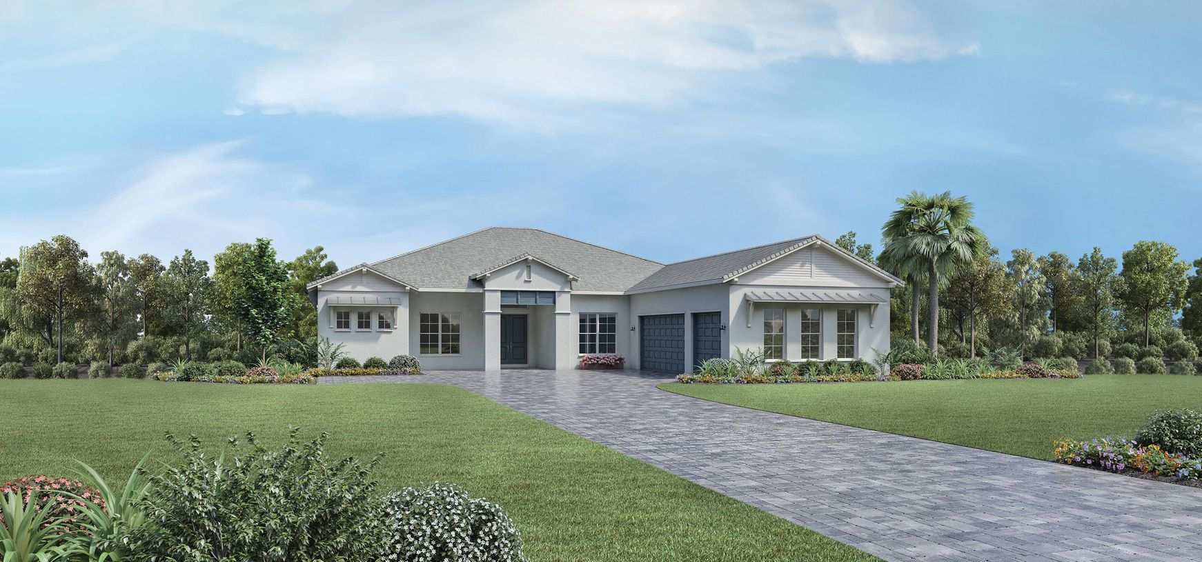 Exterior featured in the Maxwell By Toll Brothers in Sarasota-Bradenton, FL
