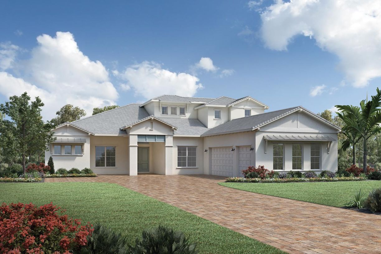 Exterior featured in the Maxwell Elite By Toll Brothers in Sarasota-Bradenton, FL