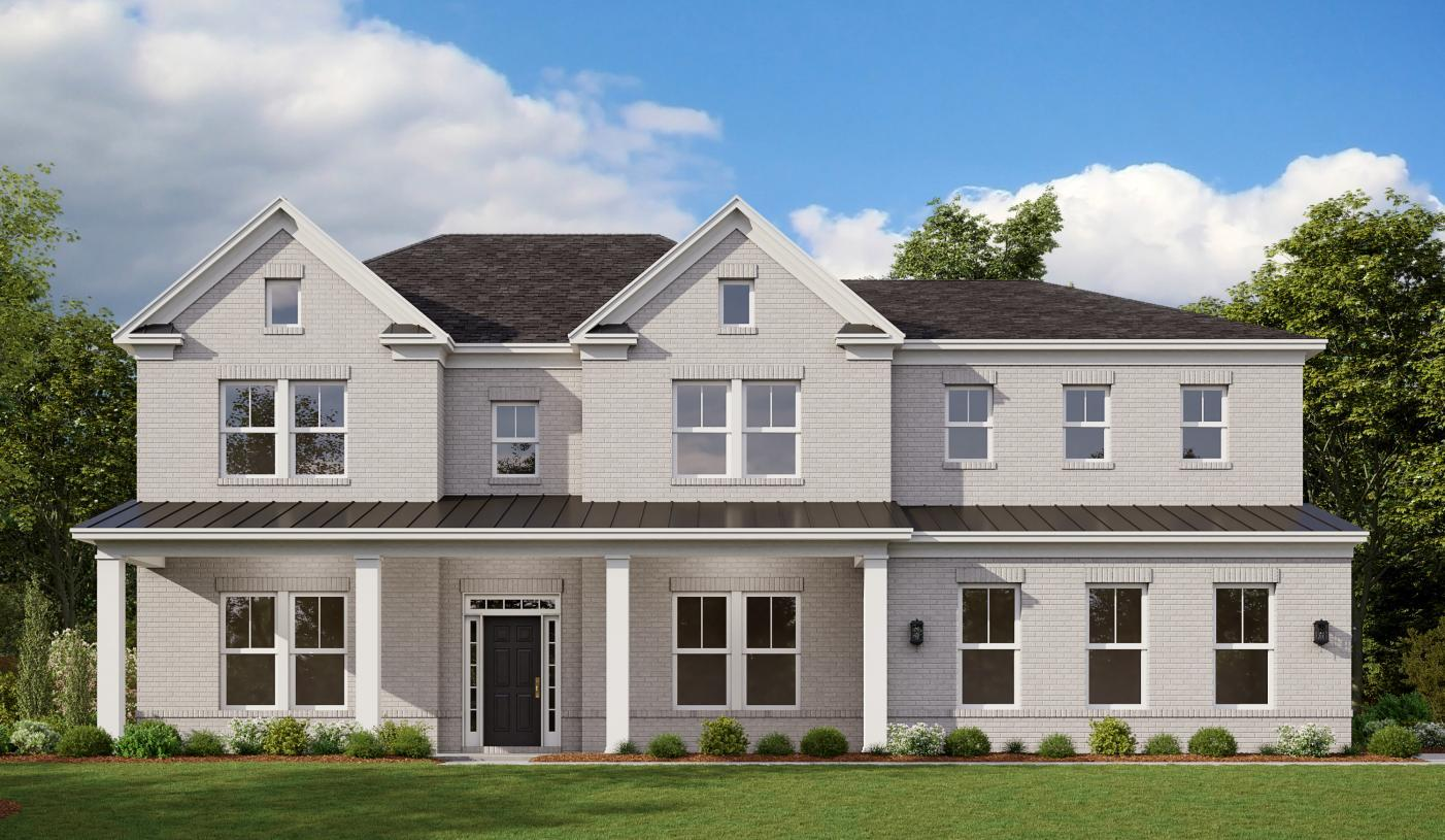 Exterior featured in the Parkstone By Toll Brothers in Atlanta, GA