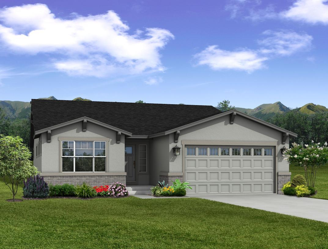 Exterior featured in the Fresco By Toll Brothers in Colorado Springs, CO