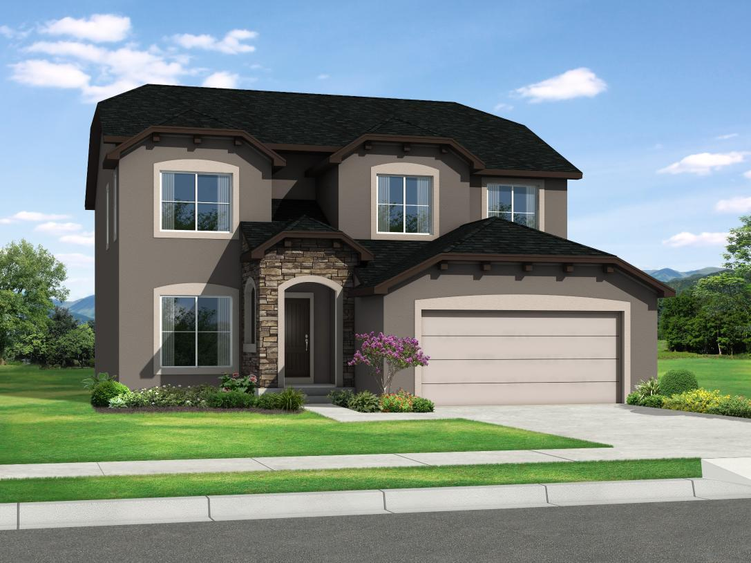 Exterior featured in the Jackson By Toll Brothers in Colorado Springs, CO