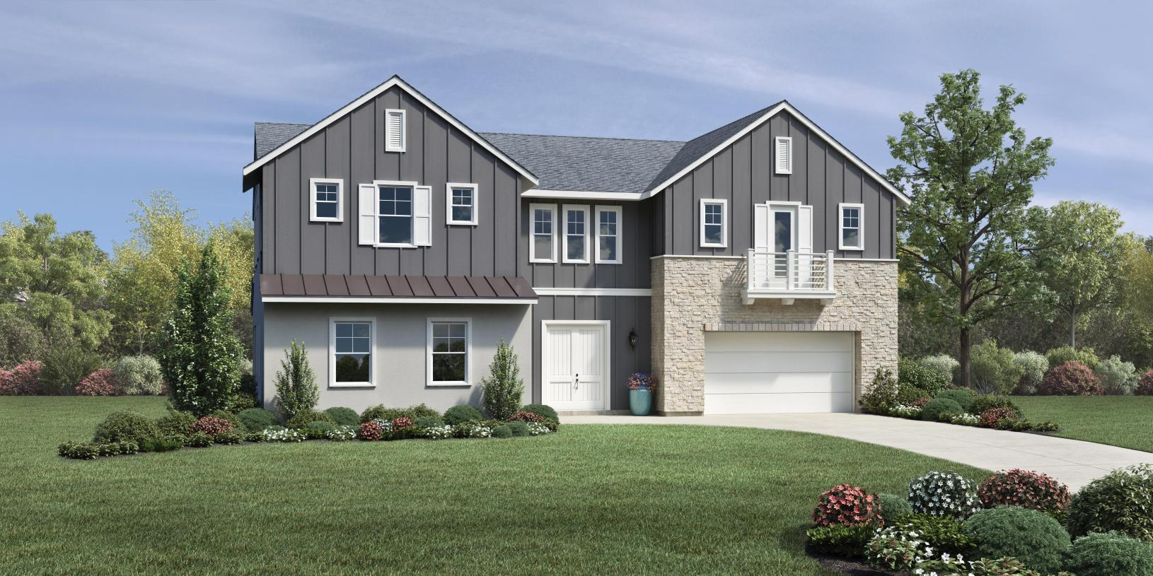 Exterior featured in the Newcastle By Toll Brothers in Sacramento, CA