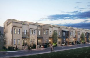 Fawcett - New Talley Station - Townhomes: Decatur, Georgia - Toll Brothers